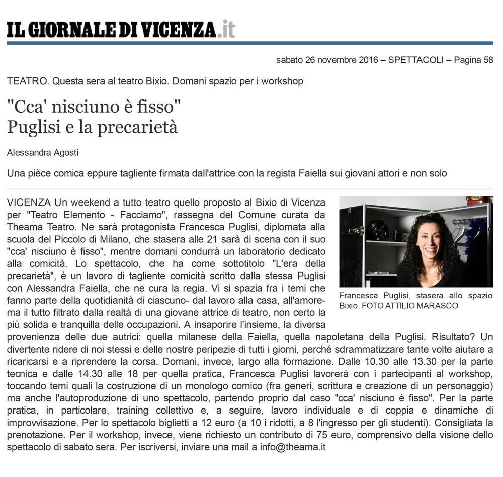 Stampa-Articolo---SPETTACOLI---Il-Giornale-di-Vicenza-Clic-Francesca-Puglisi